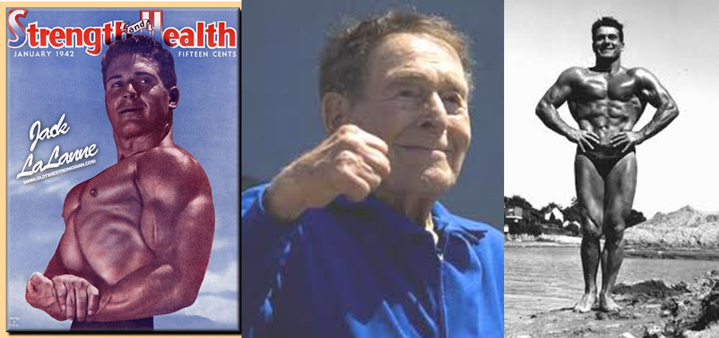 "Francois Henri ""Jack"" LaLanne (September 26, 1914 – January 23, 2011) Dies at 96 One of my earliest memories is watching Jack LaLanne on my grandmother's black and white TV. […]"