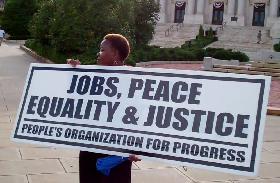 August 15, 2011 interview with Larry Hamm, Chairman of the People's Organization for Progress, commonly known as POP.